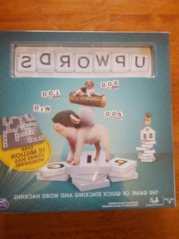UpWords Board Game New and Sealed Quick Stacking & Word Hack
