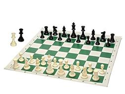 Best Value Tournament Chess Set - 90% Plastic Filled Chess P