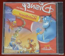 Video Game PC Disney MathQuest With Aladdin NEW SEALED Jewel