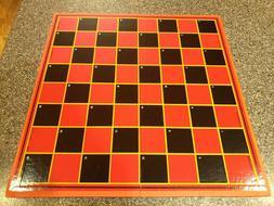 Vintage Milton Bradley Checkers Board 4125