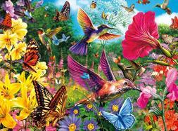 Buffalo Games - Vivid Collection - Hummingbird Garden - 1000