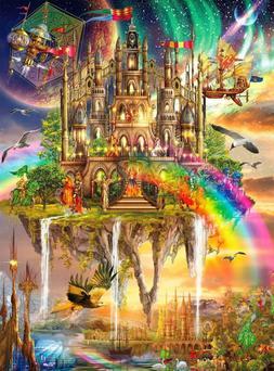 Buffalo Games - Vivid Collection - Rainbow City - 1000 Piece