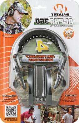 Walkers Game Ear Alpha Quad with NXT Camo