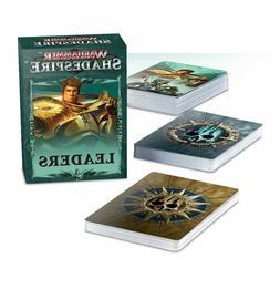 Games Workshop Warhammer Underworlds Shadespire Leader Cards