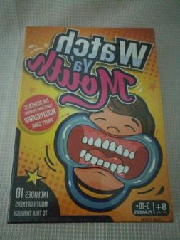 Watch Ya' Mouth Family Party Mouthguard Board Game Ages 8 &