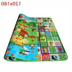 Waterproof Floor Baby Play Mat Rug Child Infant Kids Crawlin