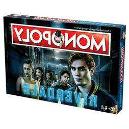 Monopoly - Winning Moves Riverdale Edition Board Game Ages: