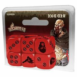 Zombicide - Red DICE Board Game *NEW* **FAST SHIP**
